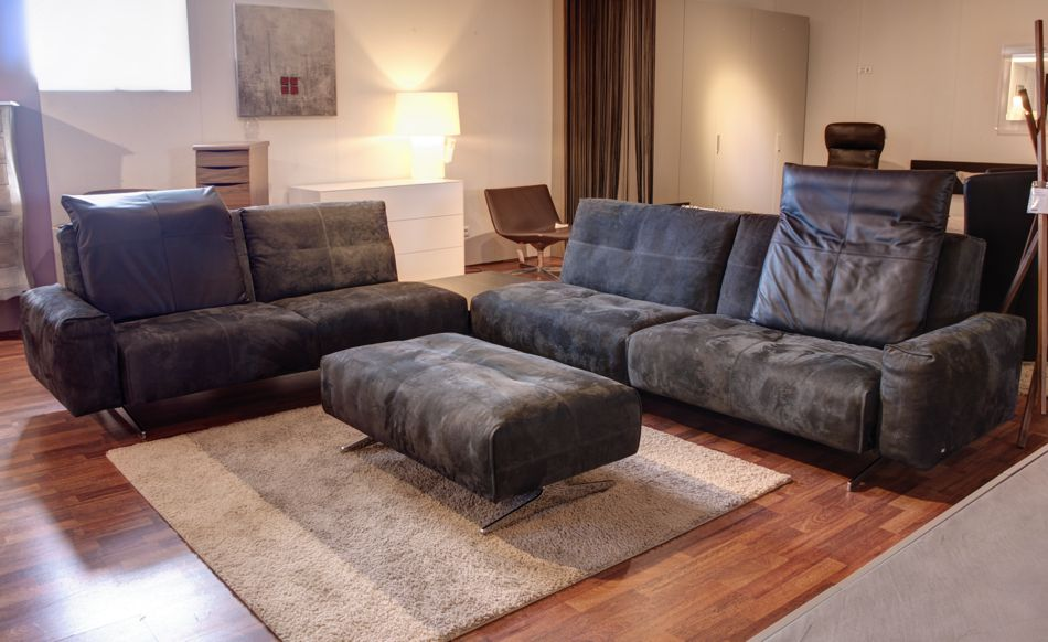 rolf benz rb 50 sofa ecktisch polsterbank leder lp eur ebay. Black Bedroom Furniture Sets. Home Design Ideas