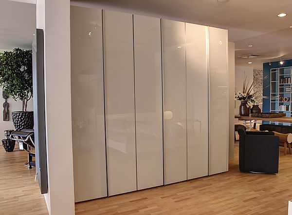 interl bke kleiderschrank s07 front glas optiwhite lp. Black Bedroom Furniture Sets. Home Design Ideas